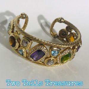 🌟VINTAGE🌟Designer Inspired Mosaic Bracelet
